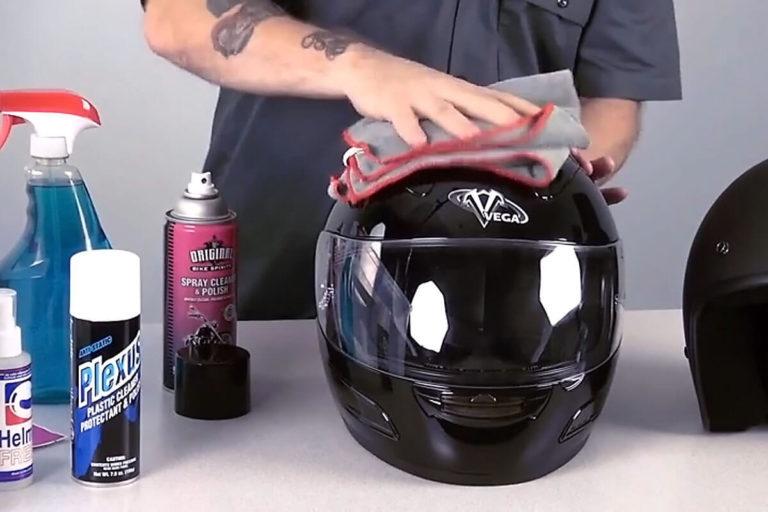 how-to-clean-a-motorcycle-helmet